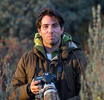 Daniel López-Velasco, ornitólogo asturiano