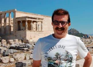 """Alejandro de Ancos, autor de """"Atletismo. Orígenes. De Sumeria al Medievo"""""""