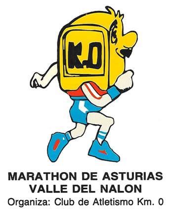 """""""Mojoncito"""", emblema del Club de Atletismo Km. 0 diseñado por el corredor Ricardo Paz"""