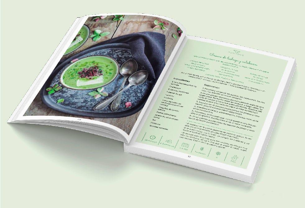 """Libro de recetas de Paula Losa """"El gusto de comer bien"""""""