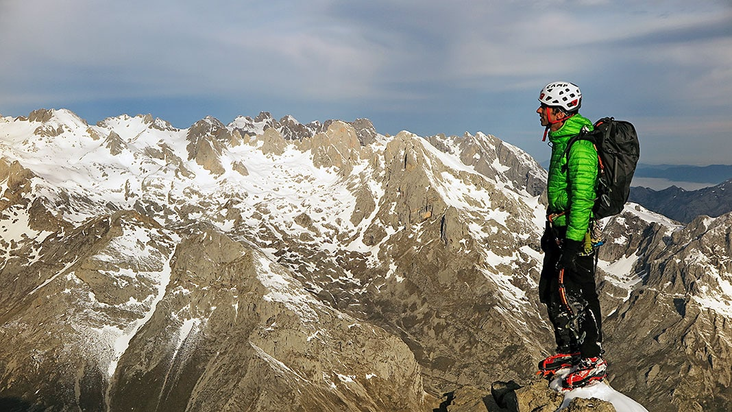 Fernando Calvo, guía de alta montaña