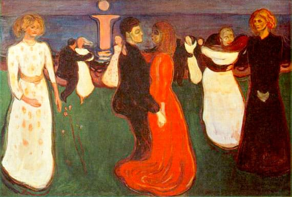 La danza de la Vida, de Edvard Munch