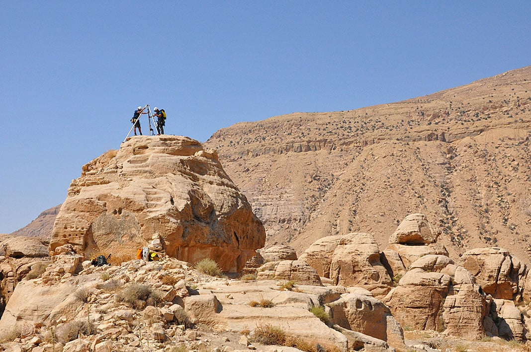 Valle de Sela, Jordania