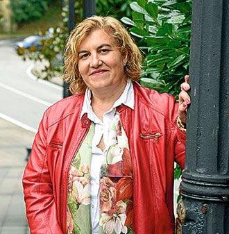 Ana Díaz, alcaldesa de Riosa