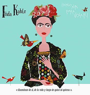 Calendario Frida Kahlo de Violeta Monreal
