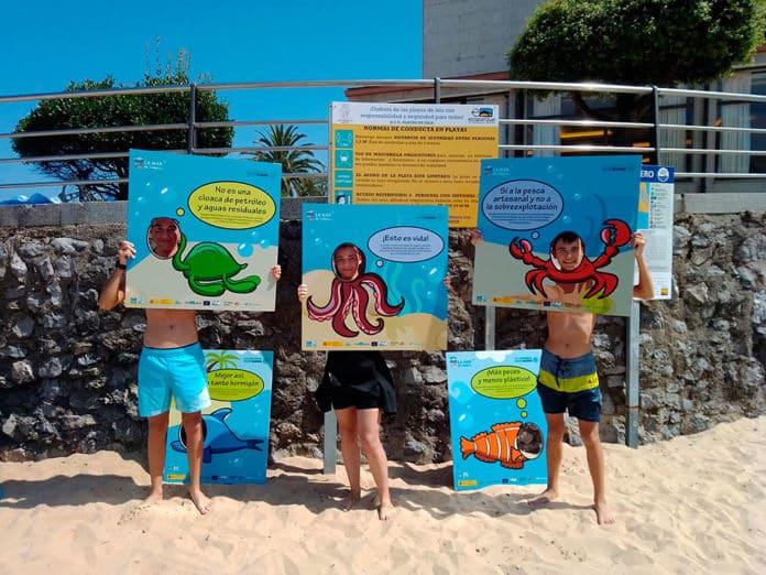 Campaña La Mar de Limpio promovida por la Fundación Oxígeno