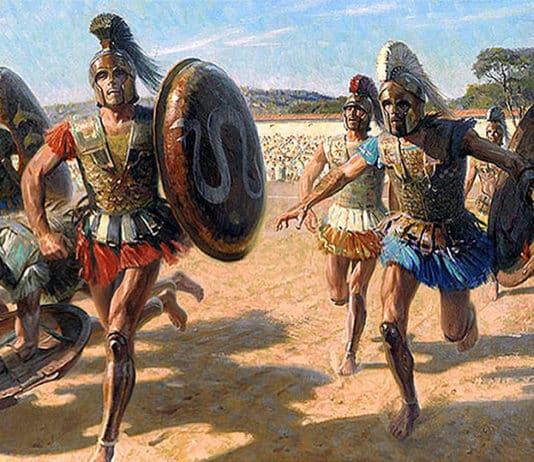 Carrera de hoplitas