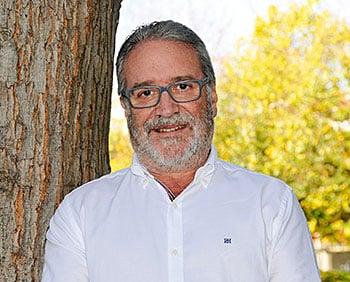 José Antonio Díaz. Presidente de la Federación de Ciclismo del Principado de Asturias