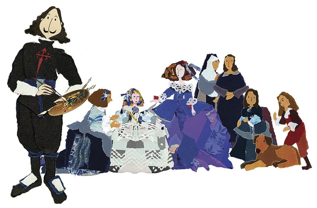 Las Meninas de Violeta Monreal