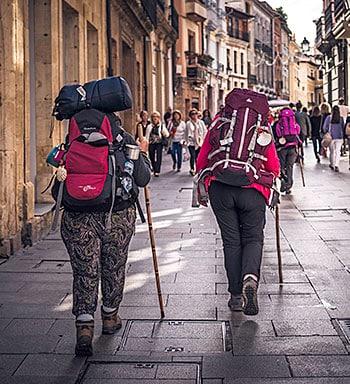 Peregrinas en Oviedo