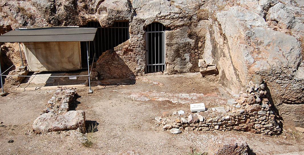 Santuario de Pan, Atenas