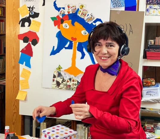 Violeta Monreal, escritora e ilustradora asturiana