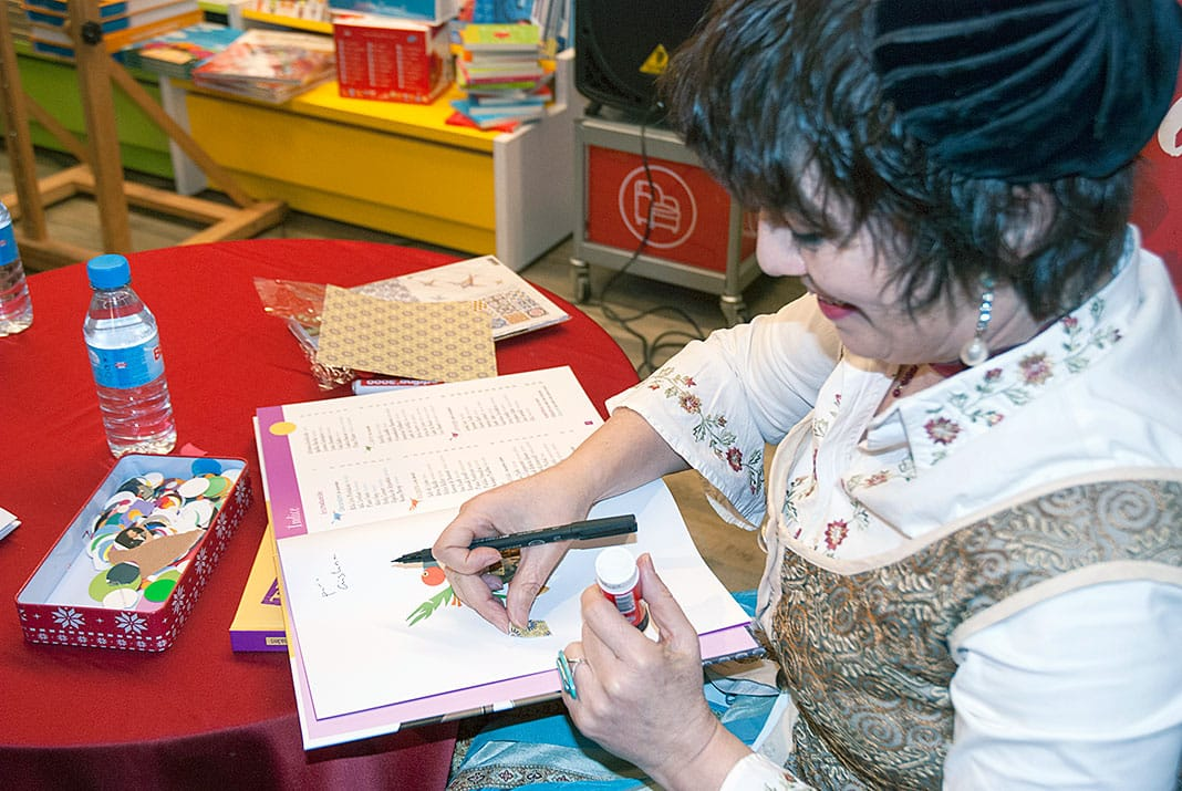 Violeta Monreal, escritora e ilustradora