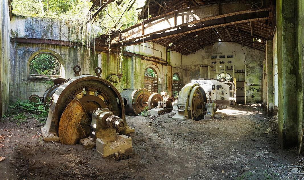 Central Hidroeléctrica del Esva, Valdés (Asturías)
