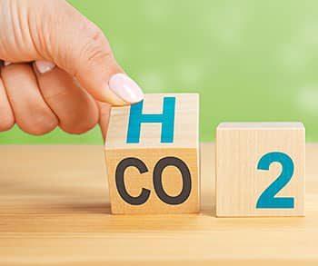 Del CO2 al H2