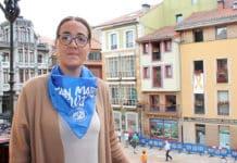 Covadonga Díaz, concejal de festejos en el Ayuntamiento de Oviedo