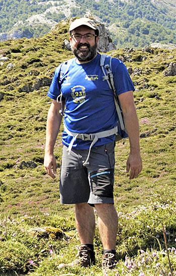 Toño Huerta, geógrafo
