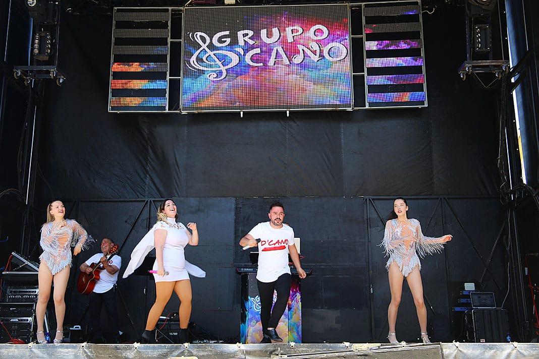 Grupo D'Cano en concierto