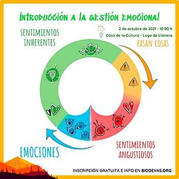 Taller de gestión emocional organizado por Biodevas