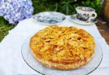 Tarta mágica de manzanas